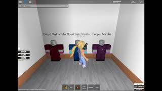 IF YOU CANT PUT YOUR UNIFORM ON | Robloxian Hospital