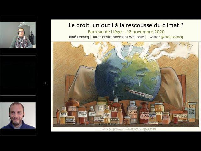 Le droit, un outil à la rescousse du climat ? - Partie 1 : Niveau international et européen
