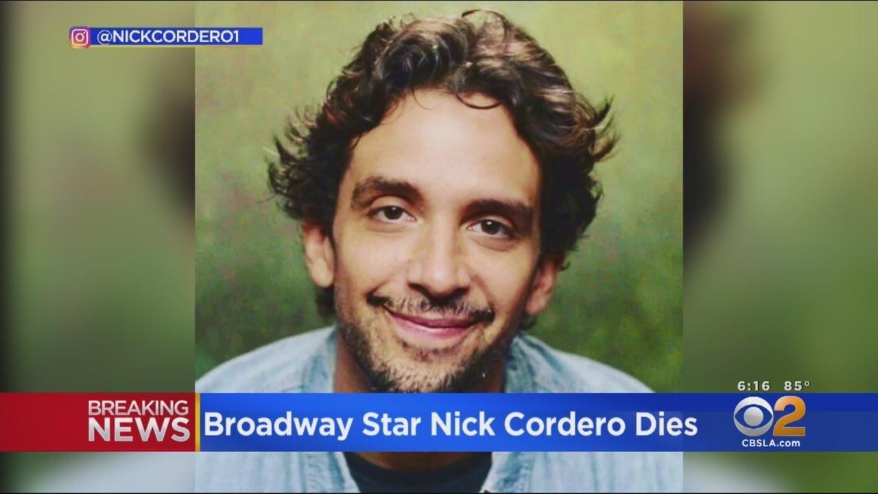 Broadway actor Nick Cordero dies after battle with coronavirus