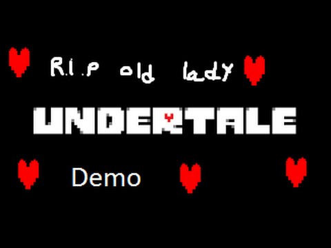 I killed an Old Lady | Undertale (Demo) | Uncut Playthrough