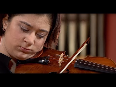 Veriko Tchumburidze (Georgia/Turkey) - Stage 1 - H. Wieniawski Violin Competition STEREO