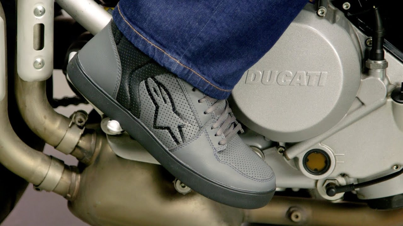 be29f8dd9b Alpinestars Anaheim Shoes Review at RevZilla.com - YouTube