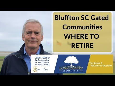 Bluffton SC Gated Communities WHERE TO RETIRE