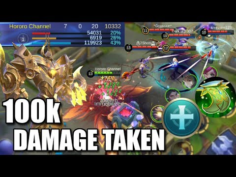 100k DAMAGE TAKEN AND NO DEATH THE REAL UNKILLABLE TANK URANUS