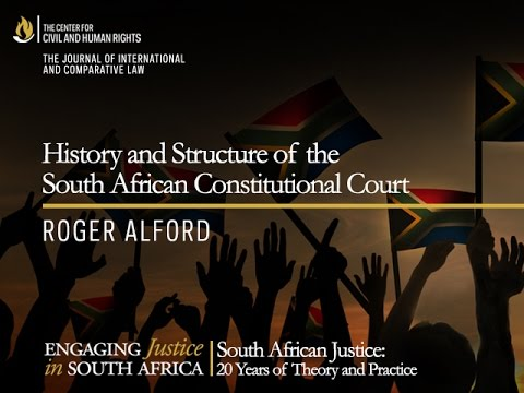 History and Structure of the South African Constitutional Co
