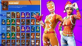I have the REMAINING RARE Skins In Fortnite... (OG Christmas Skins)