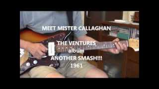 MEET  Mr. CALLAGHAN      THE VENTURES ver. cover (ミート・ミスター・キャラハン)