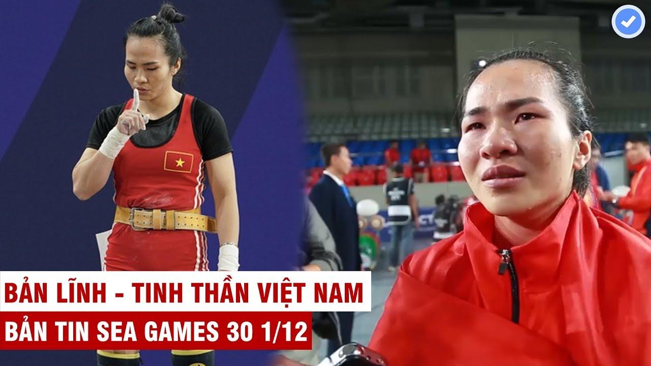 VN Sports (SEA Games 30) | Vừa giành HCV - Vương Thị Huyền bật khóc vì nhớ cha vừa mất