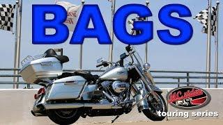 Motorcycle Touring Series - Advanblack King Tour Pack for Harley Davidson Road King