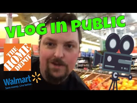 Vlog In Public? Vlogging At Walmart?