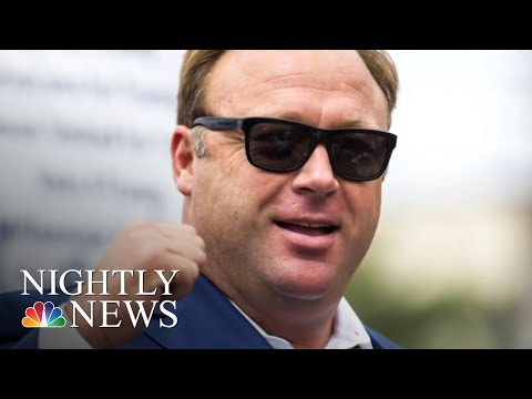 Exclusive: Twitter CEO Jack Dorsey Addresses Alex Jones 'Timeout' Decision | NBC Nightly News