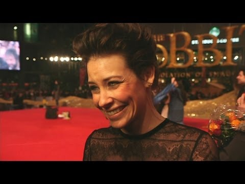 Hobbit premiere: Evangeline Lilly 'loves' nerdy Lost and Hobbit fans