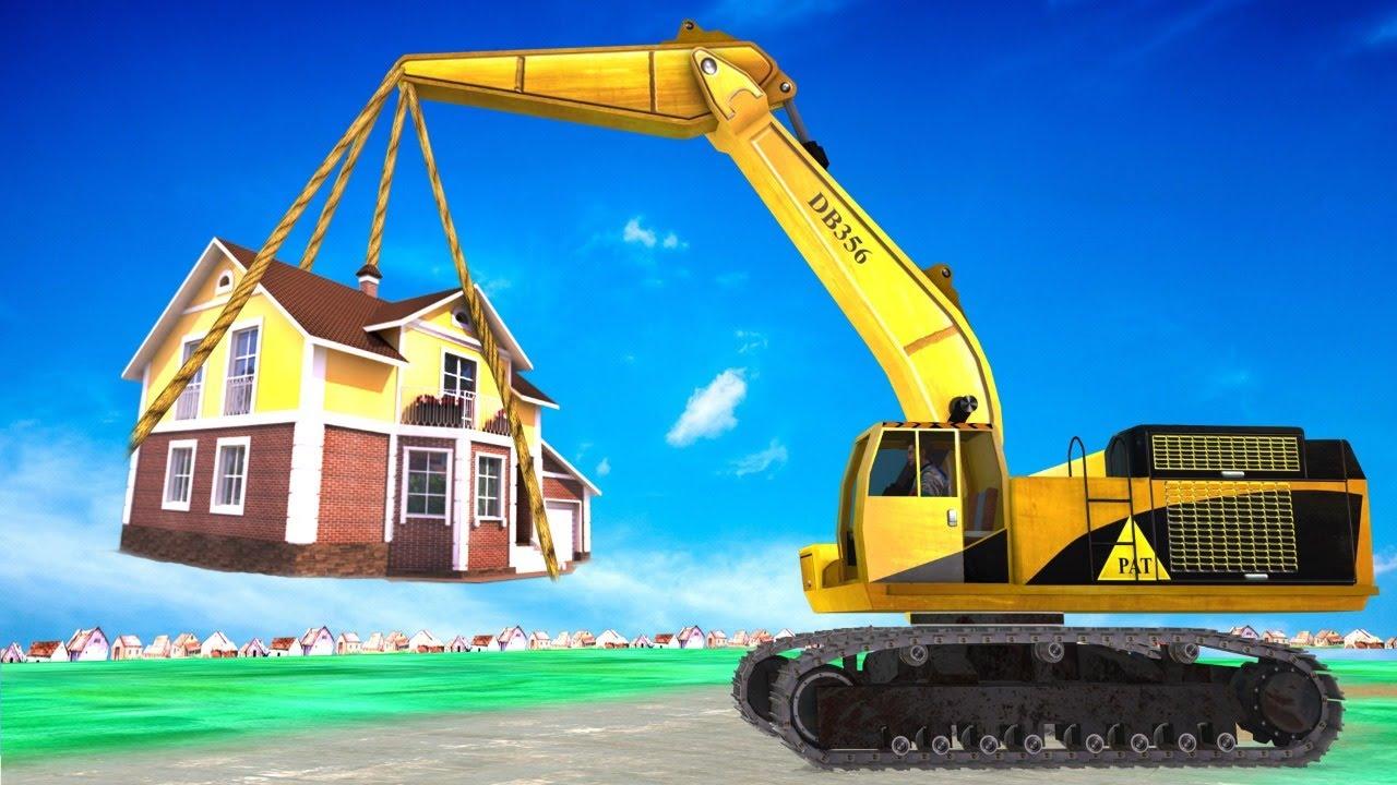 Giant Crane House Shifting बड़ा क्रेन हाउस शिफ्टिंग Comedy Kahani हिंदी कहानियाँ Hindi Comedy Video