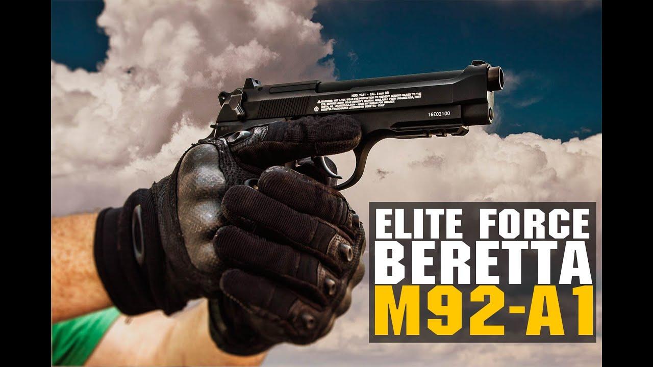 Elite Force Beretta M92 A1 Semi/Auto CO2 Blowback Airsoft Pistol