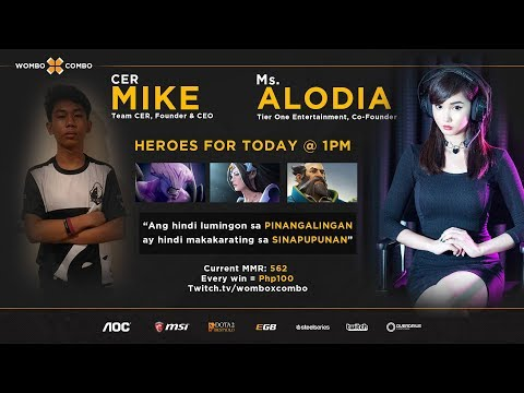 Cer.Mike.WxC Plays Queen of Pain with ALODIA GOSIENGFIAO?!   3 digit MMR Adventures