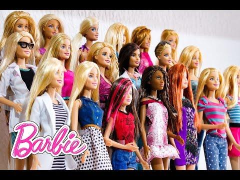 Minha Coleção de Bonecas Barbie!!