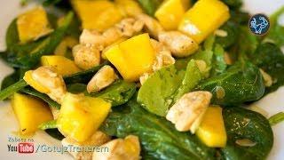 Sałatka z kurczakiem i mango - Gotuj z Trenerem