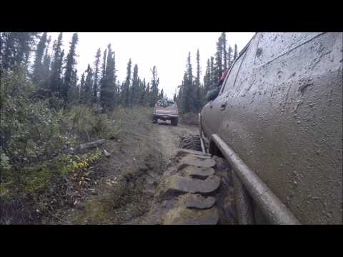 Wheeling North Of Fairbanks Alaska On Mining Roads