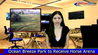 Horse Riding Arena Planned for Staten Island's Ocean Breeze Park