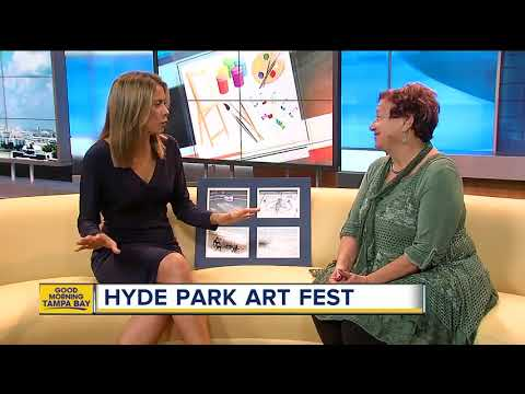 Annual South Tampa art show picturesque setting for Hyde Park