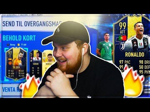 REAGERAR PÅ DOM SJUKASTE TOTY PACKSEN!! - FIFA 19 SVENSKA