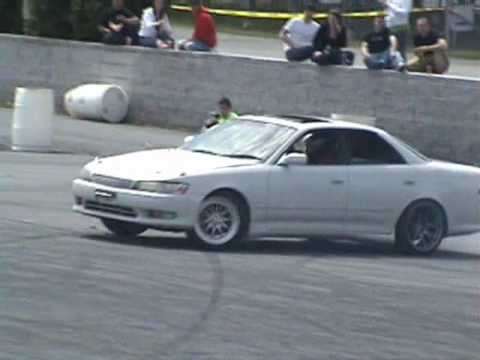 Toyota Chaser X90 At Drift Camp 2010