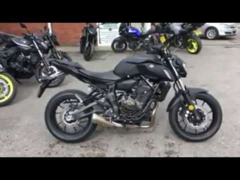 yamaha mt 07 2018 test ride youtube. Black Bedroom Furniture Sets. Home Design Ideas