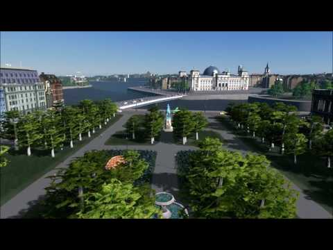 Stockholm in Cities Skylines