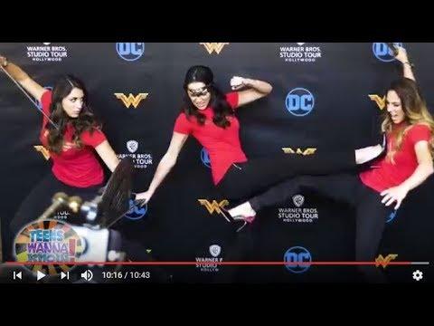 Wonder Woman Warner Brothers Studio Tour Exhibit Preview