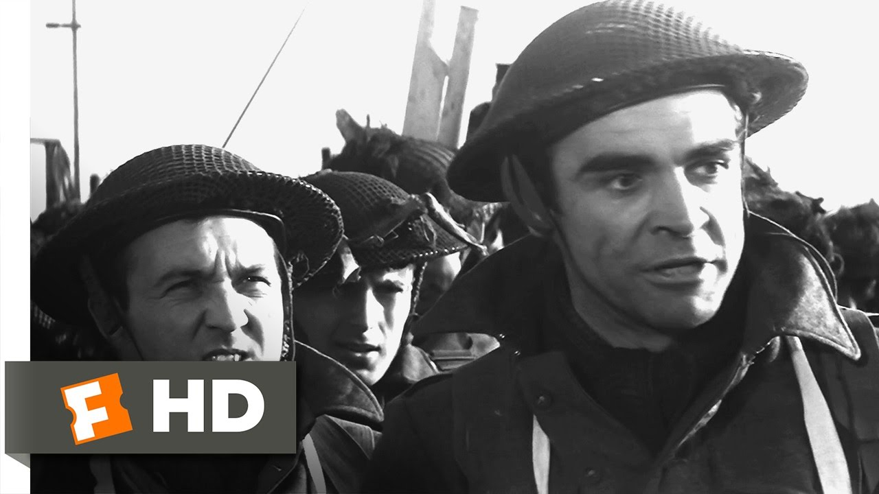 The Longest Day (2/3) Movie CLIP - The British Invasion (1962) HD