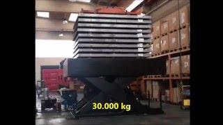 Tavola elevatrice 30000 kg