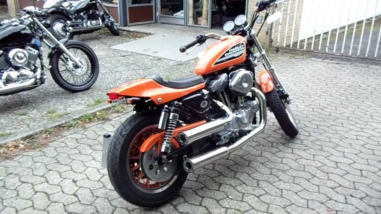Harley Sportster Flat Track Bikeranch Roadkiller Umbau
