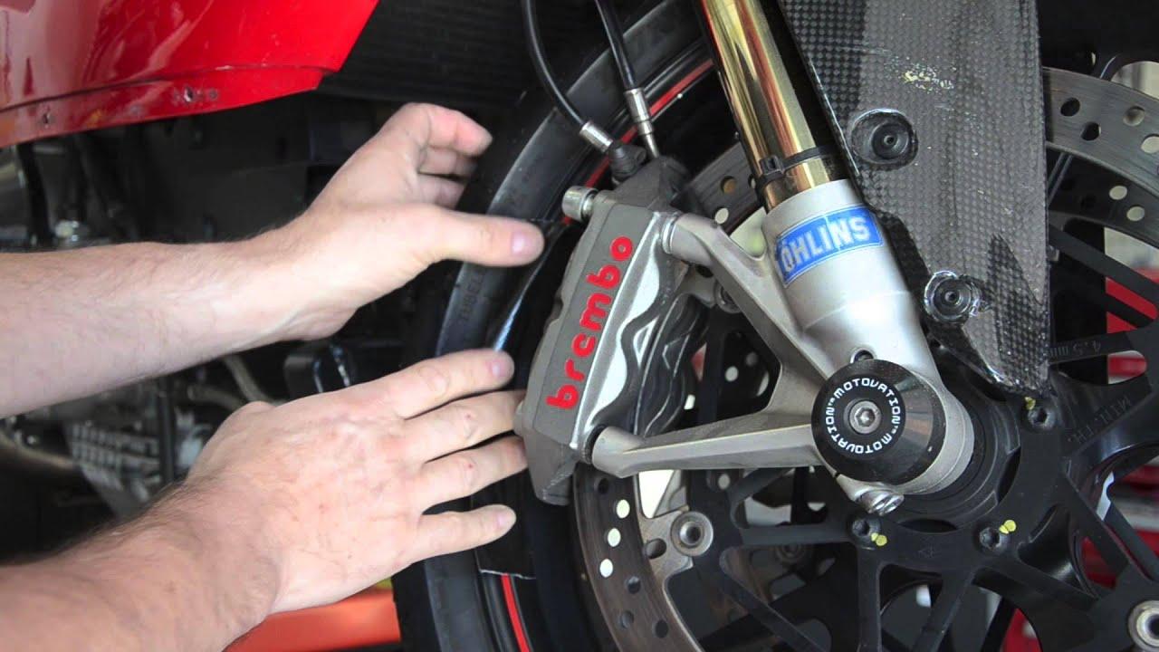 Ducati Caliper Removal