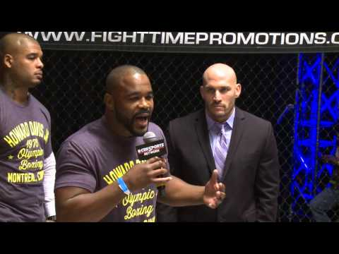 Rashad Evans supporting Fight Time Promotions