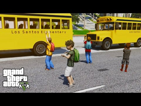 GTA 5 SECRET ELEMENTARY SCHOOL