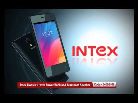 Intex Lions N1 4g Phone With Power Bank And Bluetooth Speaker Youtube