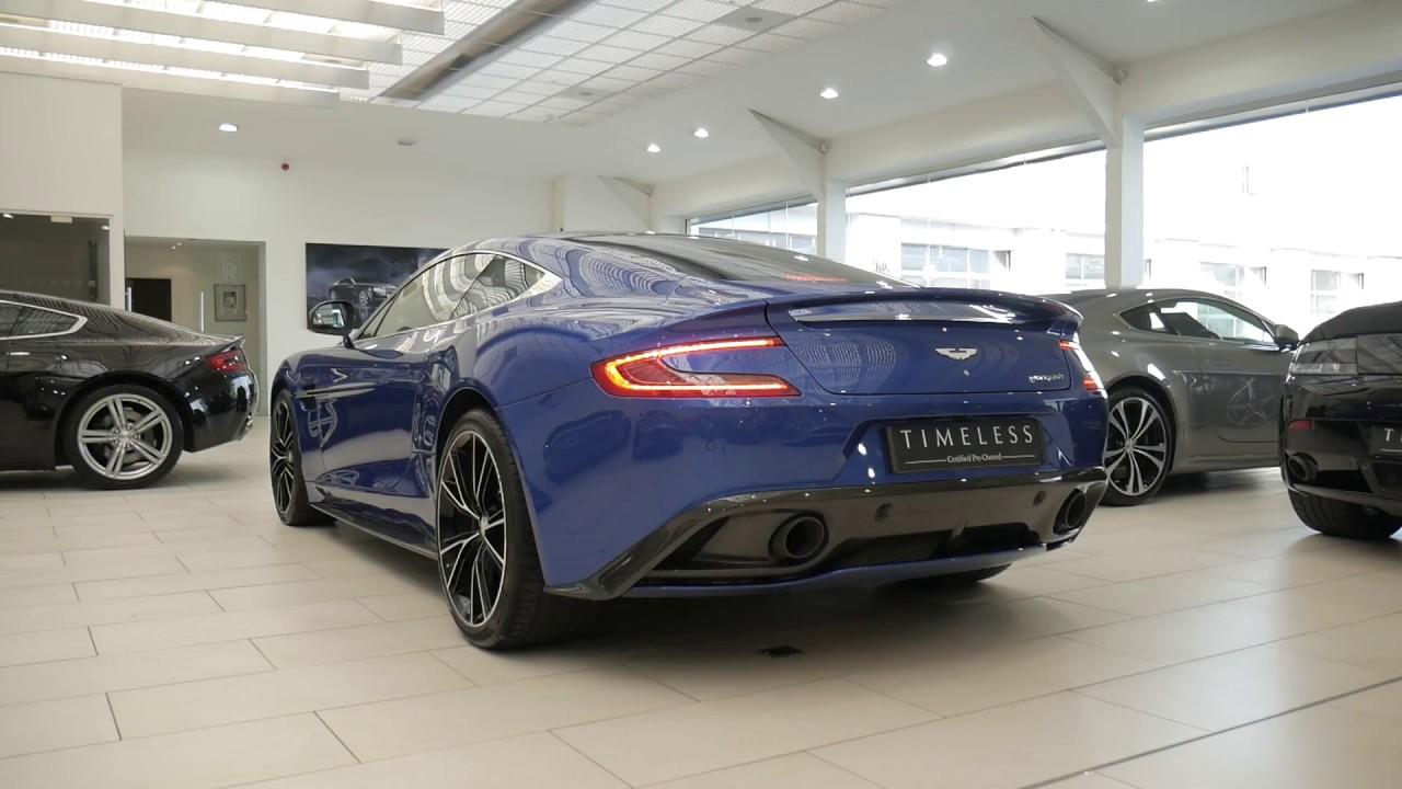 Aston Martin Edinburgh Vanquish Youtube