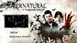 Supernatural Menu 2º Temporada (Sony Vegas)