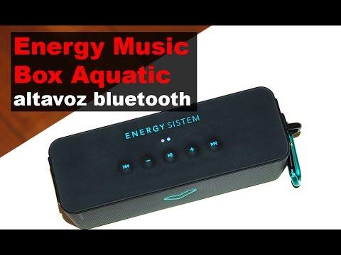 Energy Music Box aquatic review (en español)