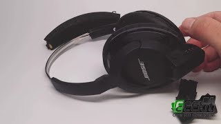 How to Replace Ear Pad Cushion for BOSE Quiet Comfort 2 QC2 QC15 QC25