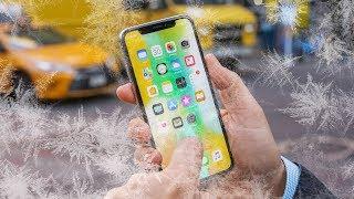 Почему iPhone выключается на холоде и как с этим бороться?