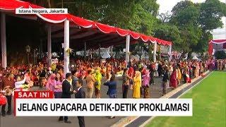 Suasana Jelang Upacara di Istana Merdeka