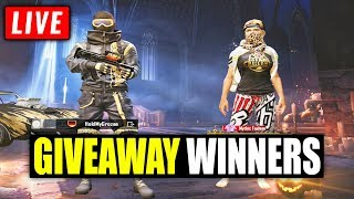 🔴PICKING GIVEAWAY WINNERS FOR S10 ROYALE PASS🔴