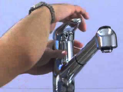 Maintenance - How to replace a cartridge on a Pfister Kitchen Faucet ...