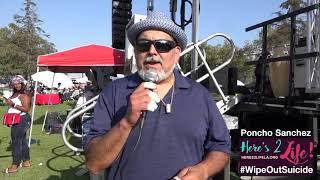 Poncho Sanchez Speaks Out for Suicide Prevention