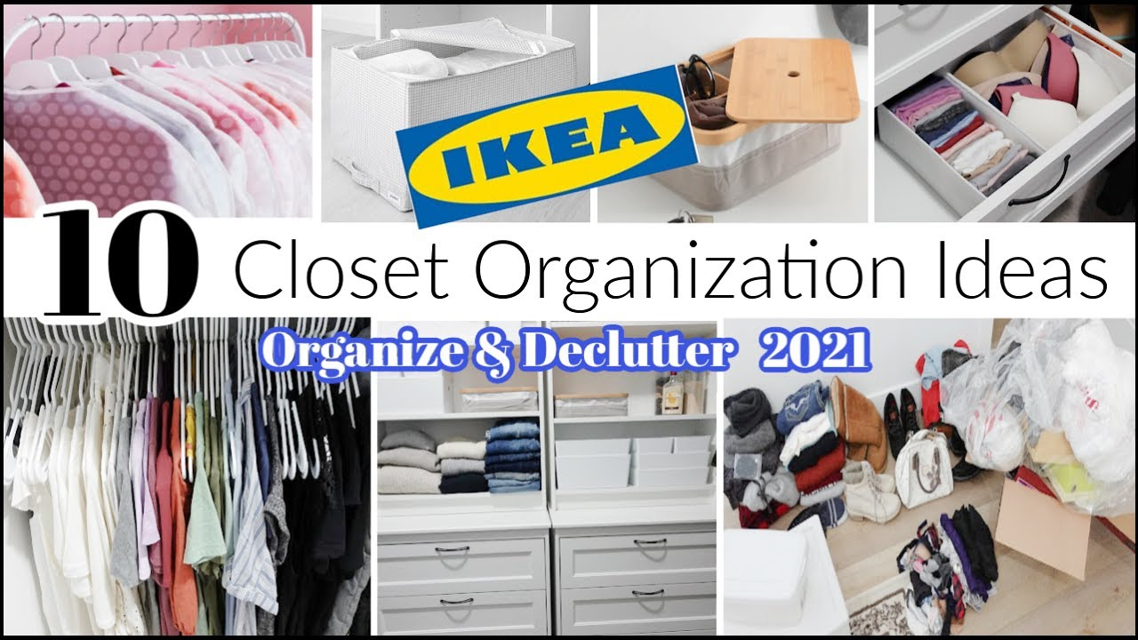 Download 10 IKEA Closet Organization Ideas You Need / Declutter + Organize With Me 2021 \ Home Organizing