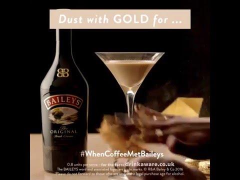 Coffee & Baileys: How to make Baileys Bling