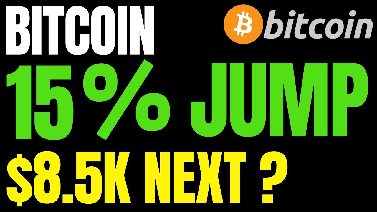 Bitcoin Price 15% Jump to $8,500 on the Table | Cryptocurrency to Replace Fiat Currencies by 2030