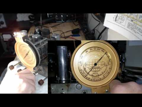 1936 SILVERTONE 4563 BC-SW Radio Part 3 of 4 Alignment & Assembly