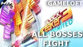 BLock breaker deluxe 3 unlimited ALL BOSSES FIGHT 2018/2019 PC GAMEPLAY